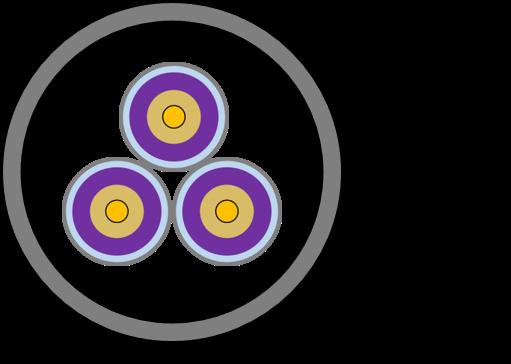 POFケーブルの断面図