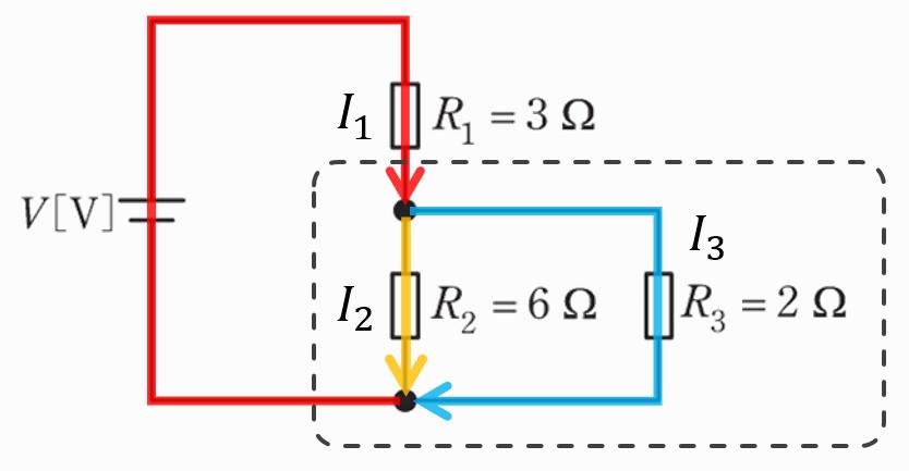 電験三種2020理論問6の回路に流れる電流