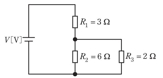 電験三種2020理論問6の回路図