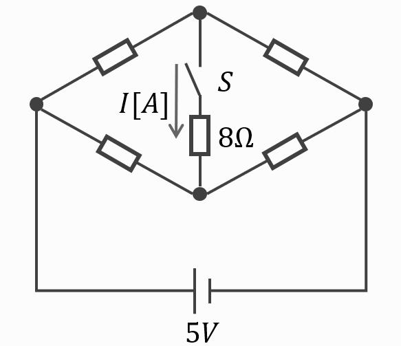 電験三種2020理論問7のブリッジ回路