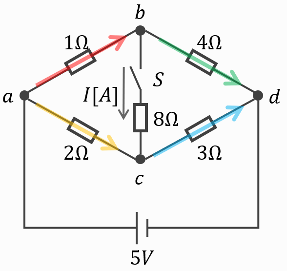 電験三種2020理論問7のブリッジ回路3