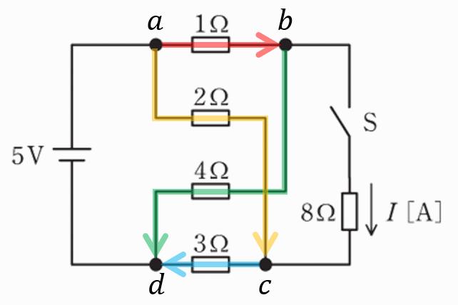 電験三種2020理論問7の回路図2
