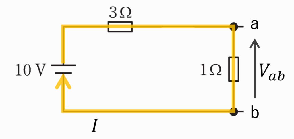 電験三種2020理論問10の回路図にテブナンの定理を適用する画像