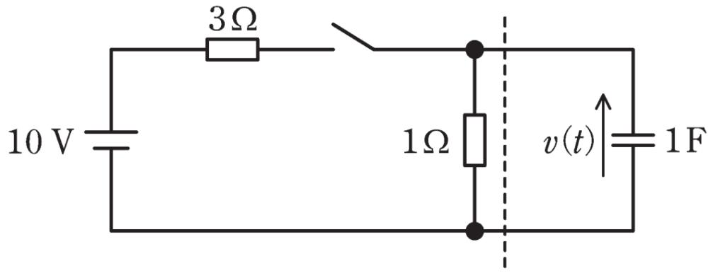 電験三種2020理論問10の回路図