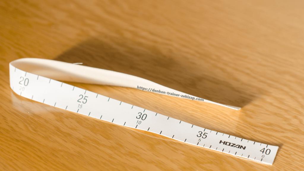 ホーザンの第二種電気工事士技能試験向け工具セットDK28の布尺
