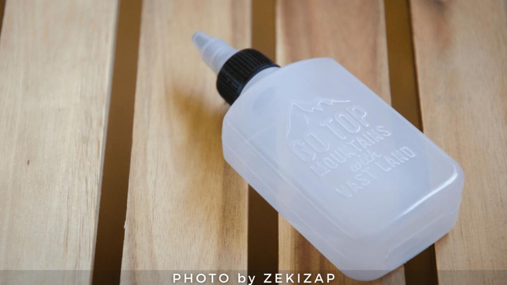 セリアのオイルボトルはコスパと容量がちょうど良くてオススメ